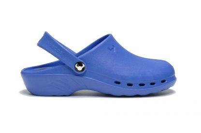 niebieskie obuwie medyczne