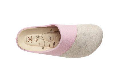 Sansa Beige-Pink obuwie domowe
