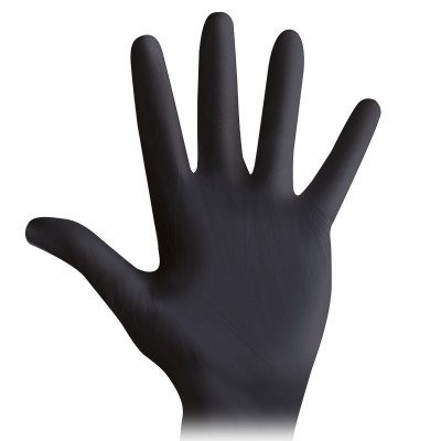 rekawice nitrylowe czarne